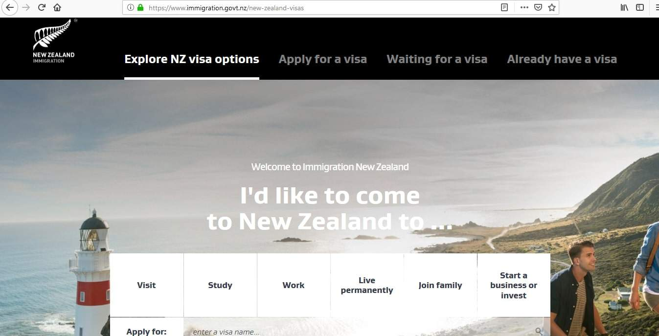 New Zealand Visa Types