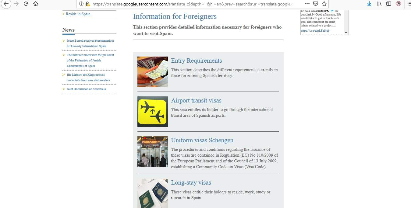 Spain Schengen Visa Puerto Rico Consulate Application Process