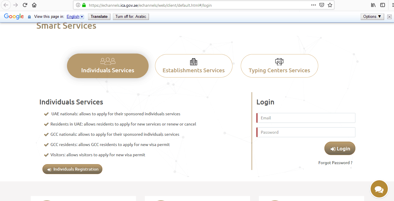 UAE eVisa Portal