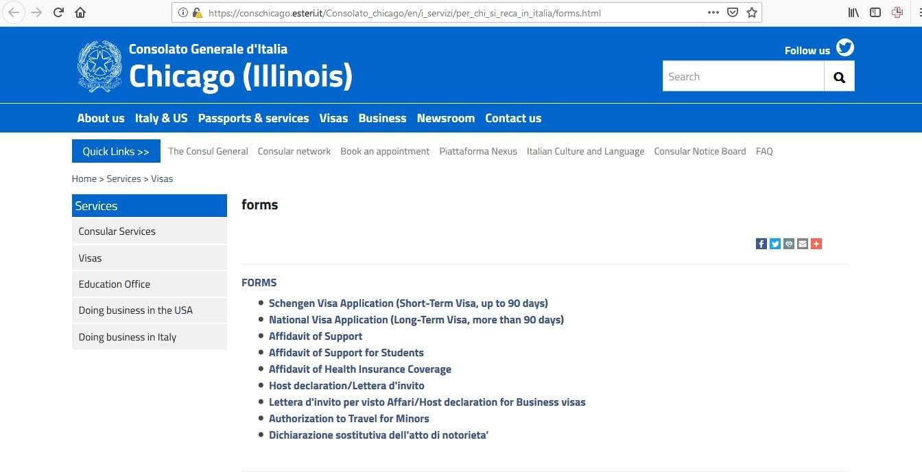 Estonia Schengen Visa Chicago Consulate Application Form1