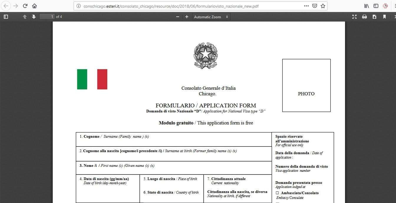 Estonia Schengen Visa Chicago Consulate Application Form3