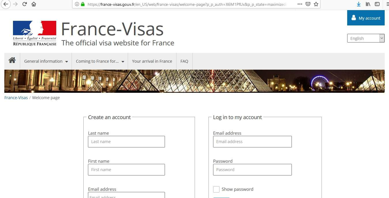 FIFA Women's World Cup France 2019 Schengen Visa Application Form2