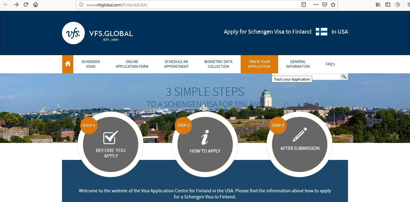 Finland Schengen Visa Chicago Consulate Visa Tracker