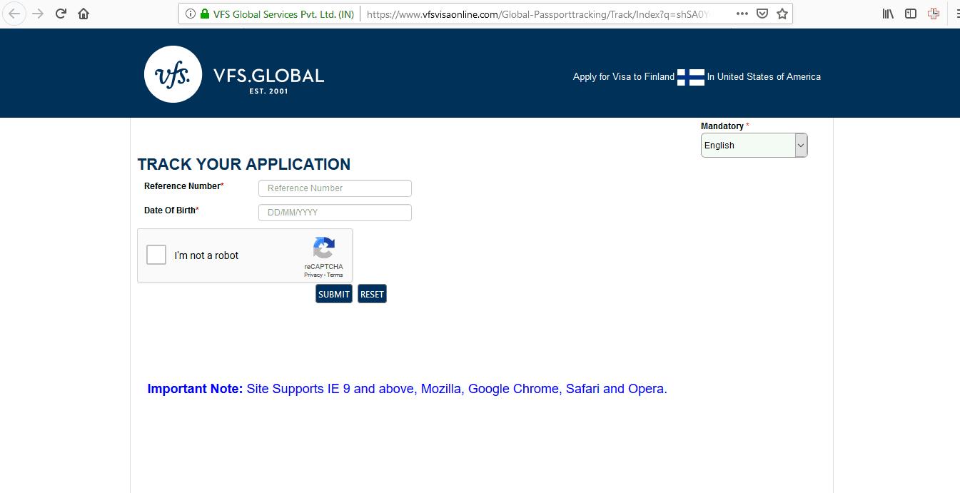 Finland Schengen Visa Chicago Consulate Visa Tracker1