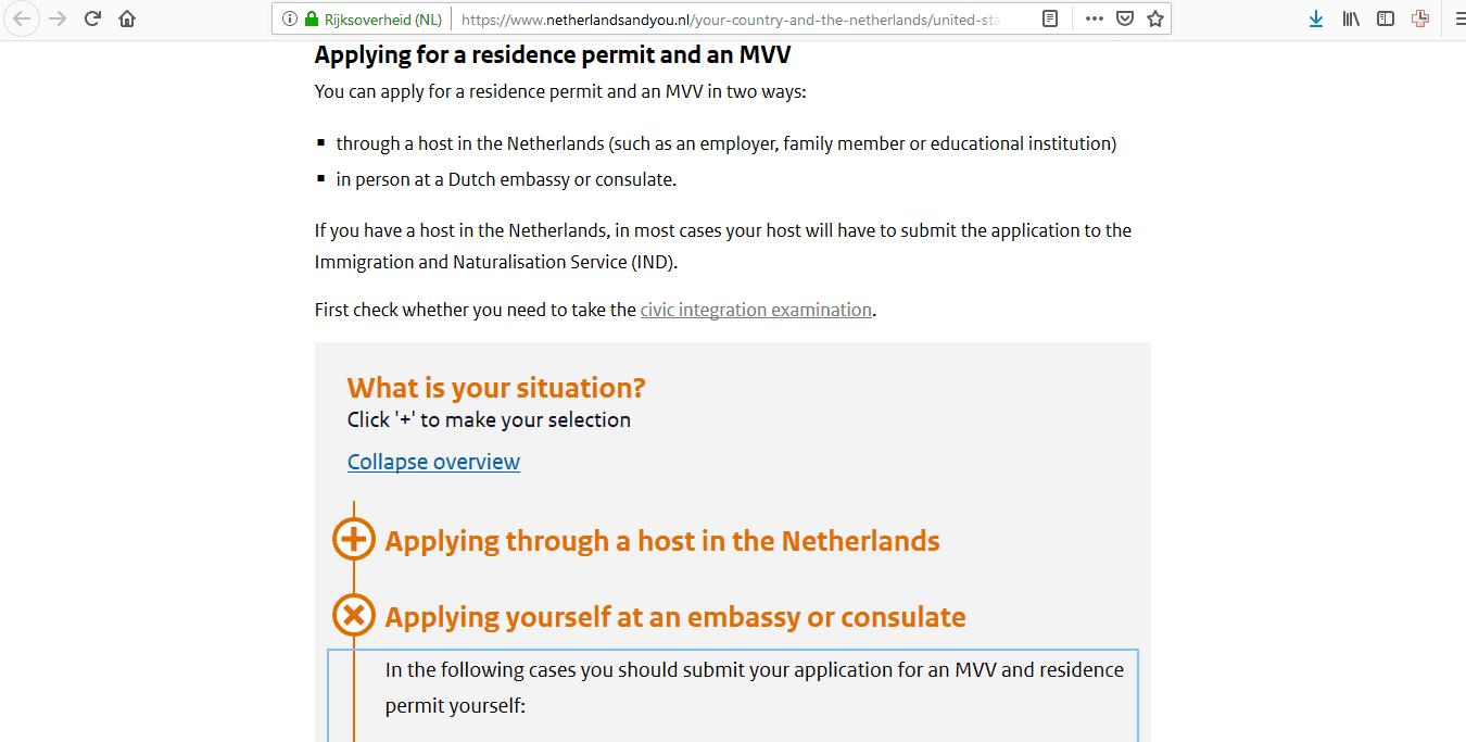 Netherlands Schengen Visa Chicago Consulate Application Form9