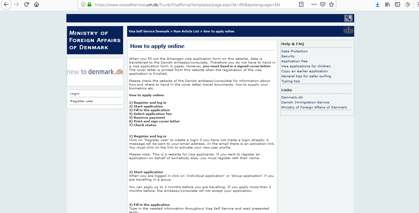 Denmark Schengen Visa Chicago Consulate Application Form4