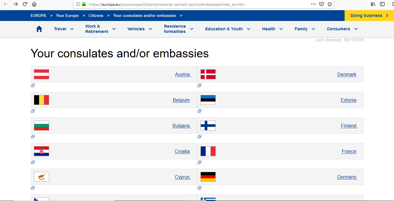 Europe Cruise Trip Schengen Visa Embassies