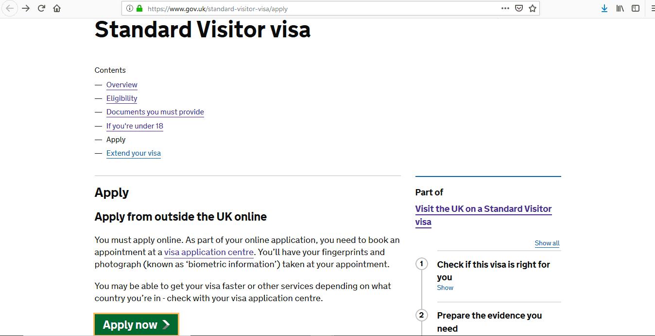 ICC Cricket World Cup 2019 UK Visa Application Form1