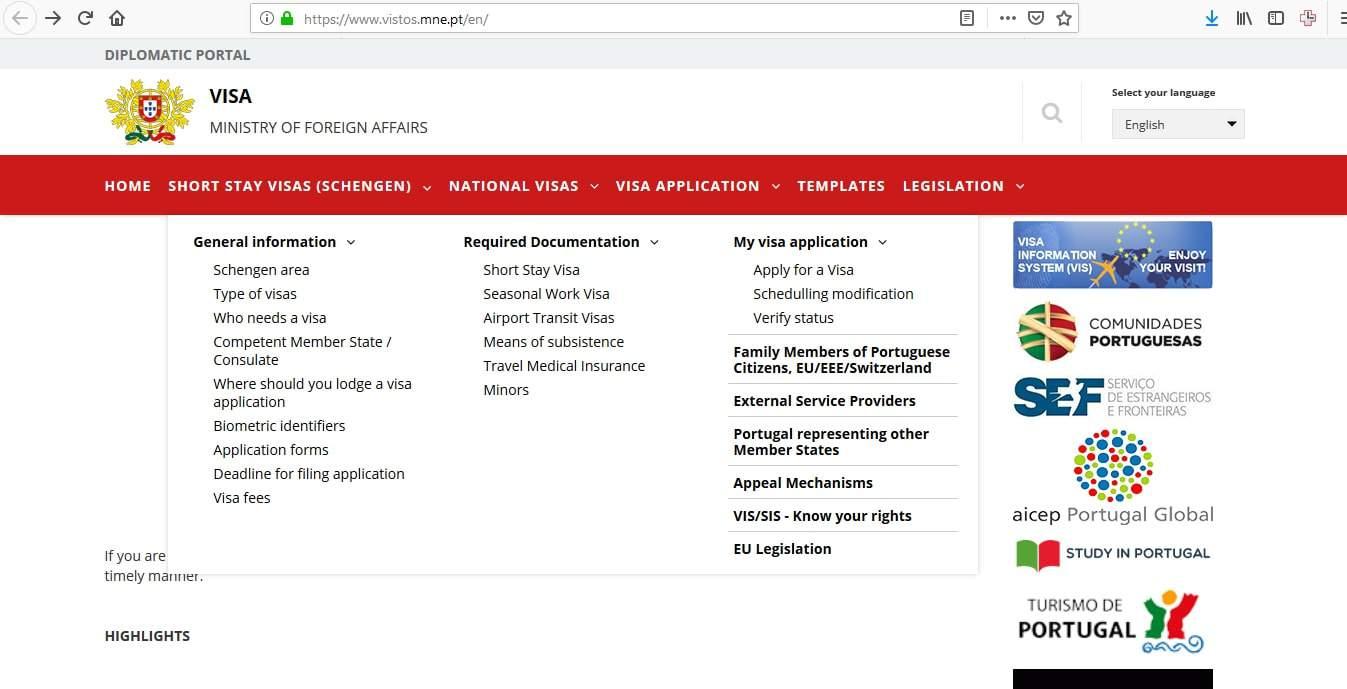 Portugal Schengen Visa San Francisco Consulate Application Form3