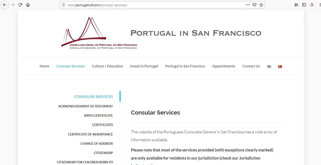 Portugal Schengen Visa San Francisco Consulate Application Form5