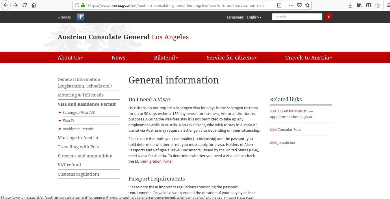 Slovakia Schengen Visa Los Angeles Consulate Application Form1