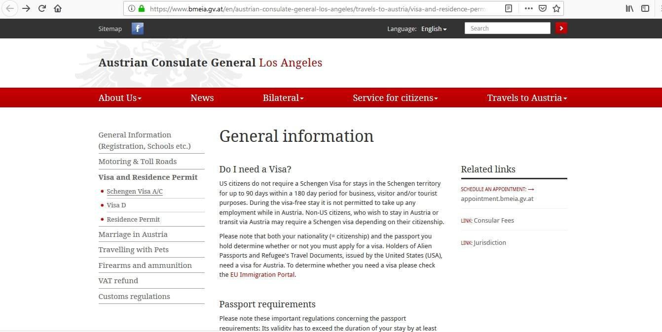 Slovenia Schengen Visa Los Angeles Consulate Application Form1