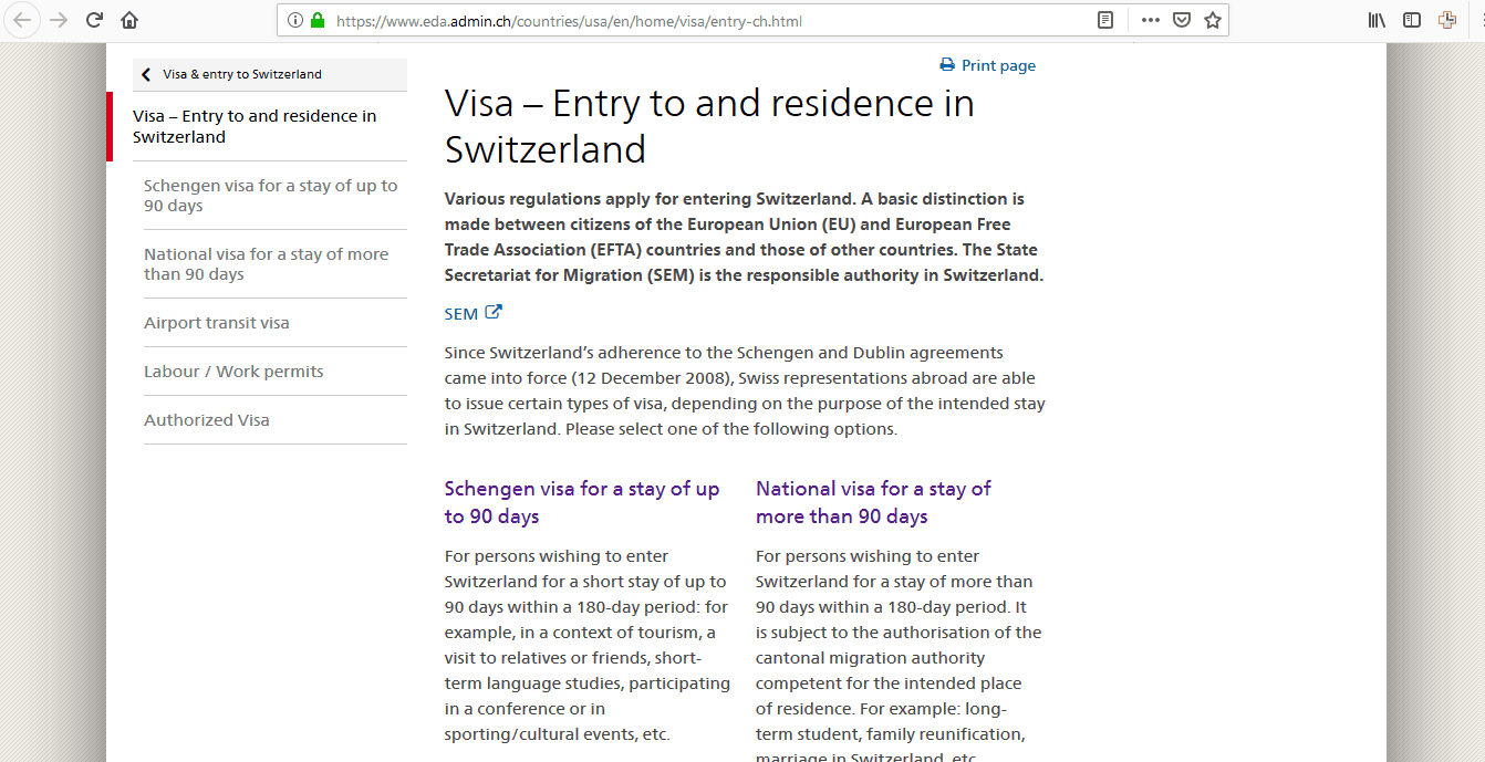 Switzerland Schengen Visa Chicago Consulate Online Application1