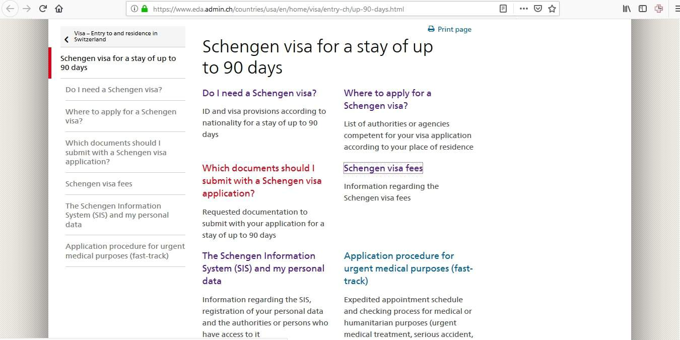 Switzerland Schengen Visa Chicago Consulate Online Application2