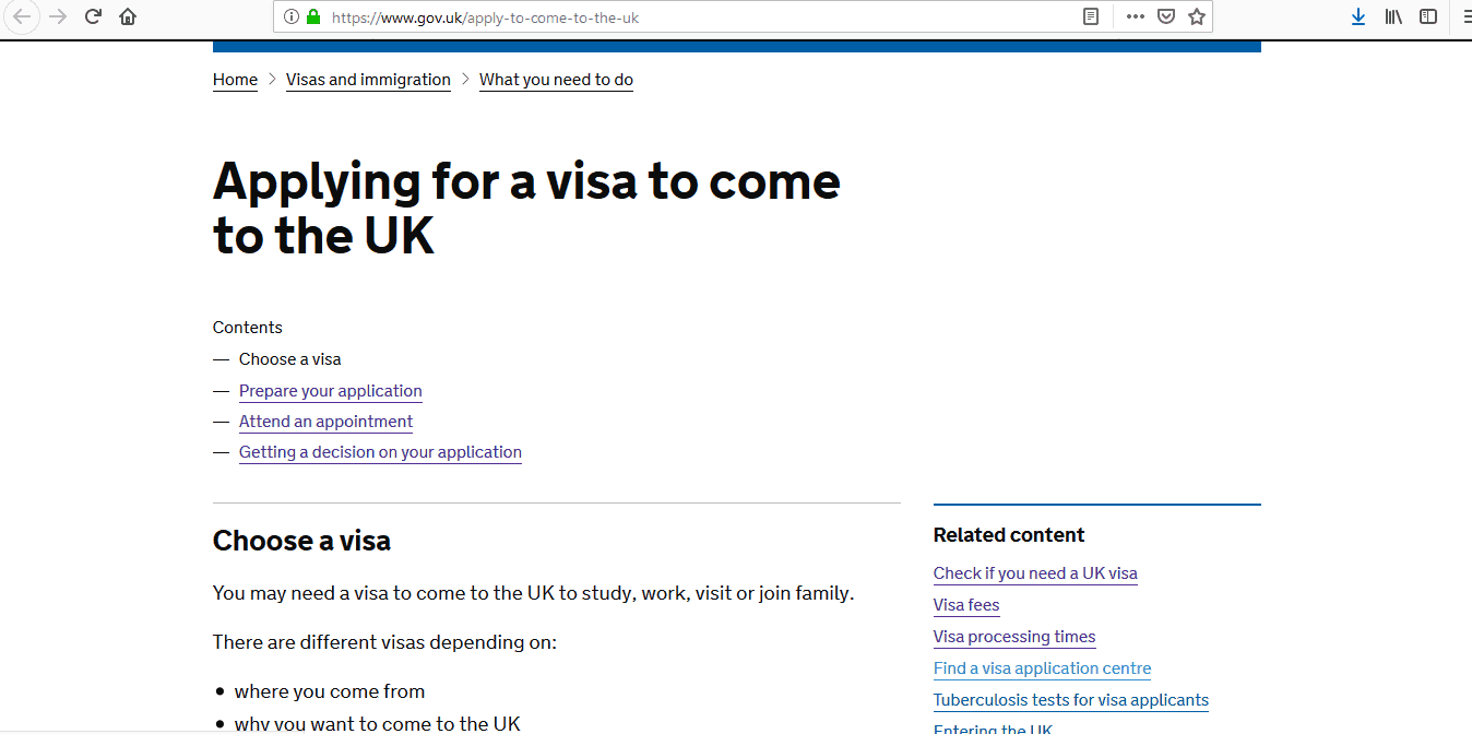 UK Visa Application Process and Requirements3
