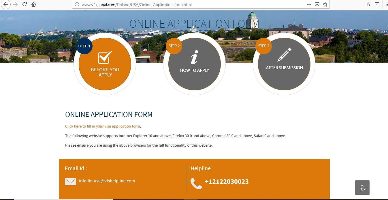 Finland Schengen Visa San Francisco Consulate Application Form1