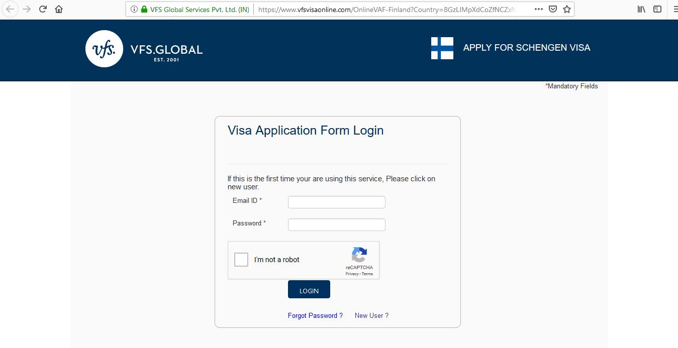 Finland Schengen Visa San Francisco Consulate Application Form2