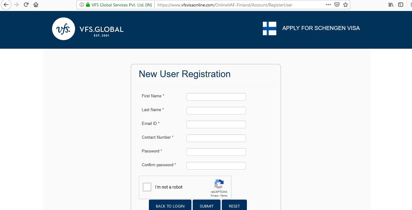 Finland Schengen Visa San Francisco Consulate Application Form3