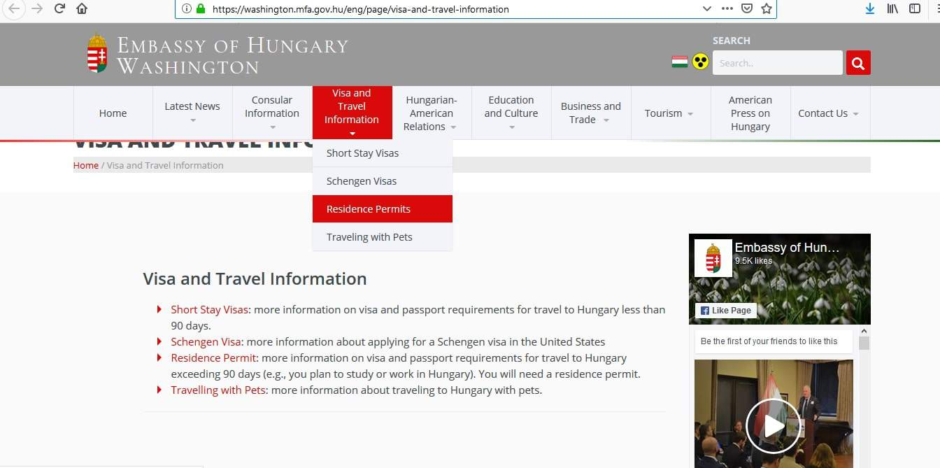 Hungary Schengen Visa Washington DC Embassy Application Form3