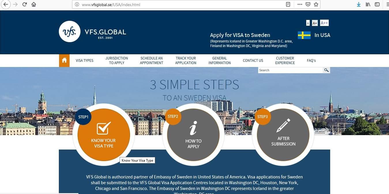 Iceland Schengen Visa Washington DC Embassy Application Form