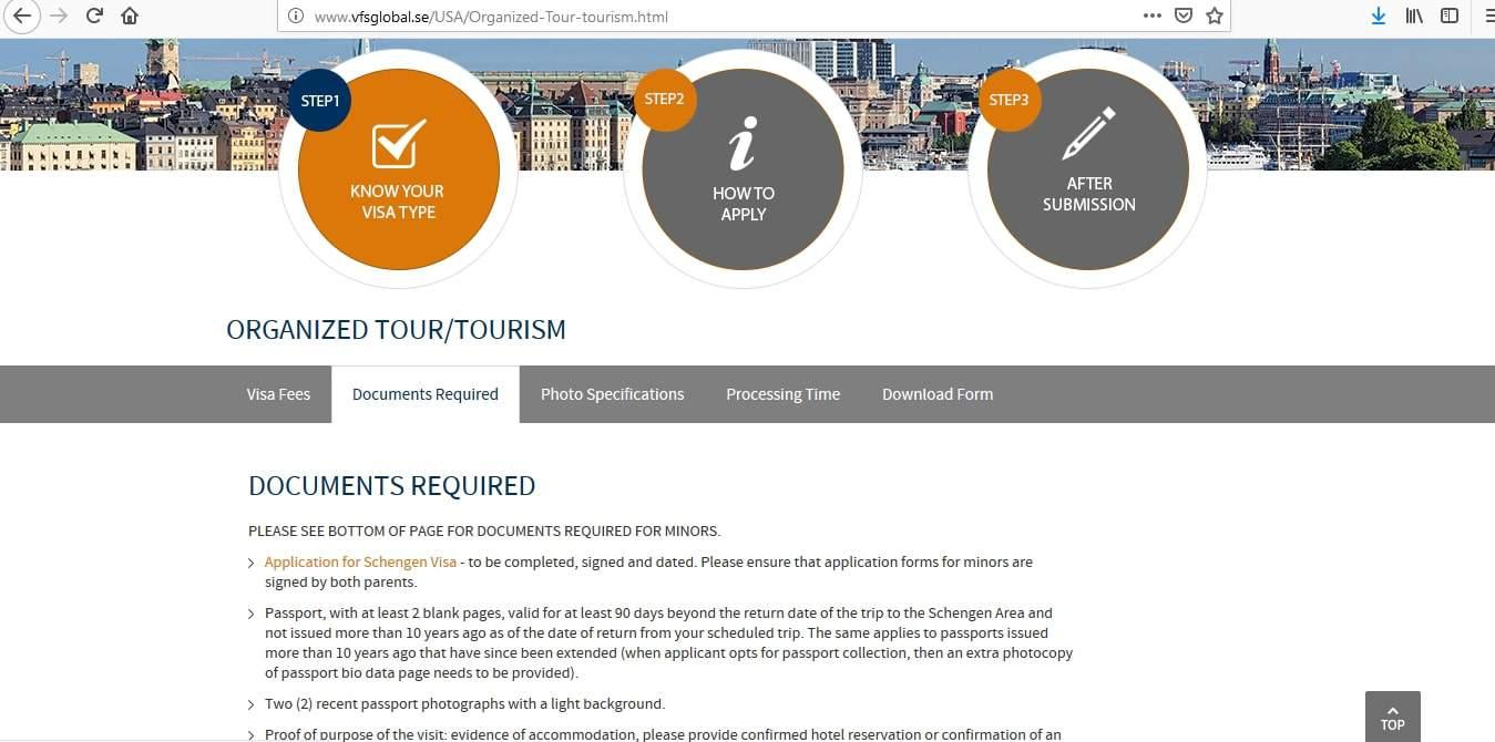 Iceland Schengen Visa Washington DC Embassy Application Form2