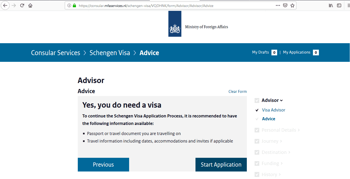 Netherlands Schengen Visa from UK Application Form4