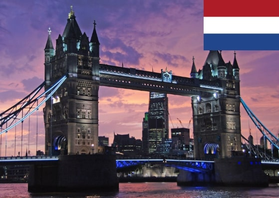 Netherlands Schengen Visa from UK