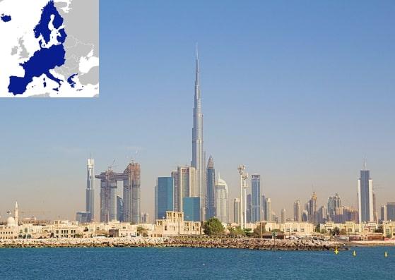 Schengen Visa from Dubai