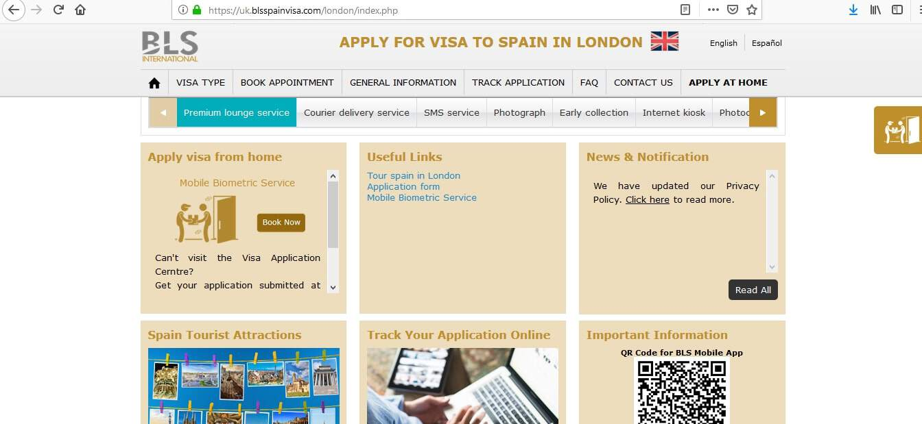 Spain Schengen Visa from UK Application Form