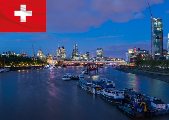 Switzerland Schengen Visa From UK