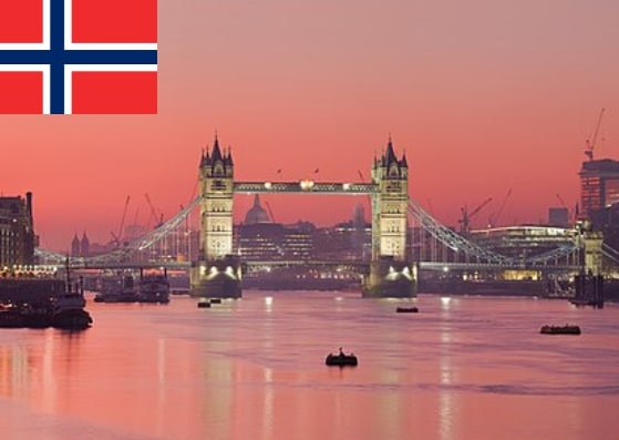 Norway Schengen Visa from UK