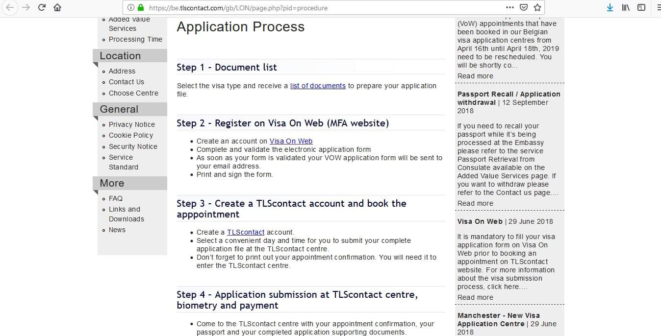 Belgian Consulate London - 5 Easy Steps to Apply for Belgium