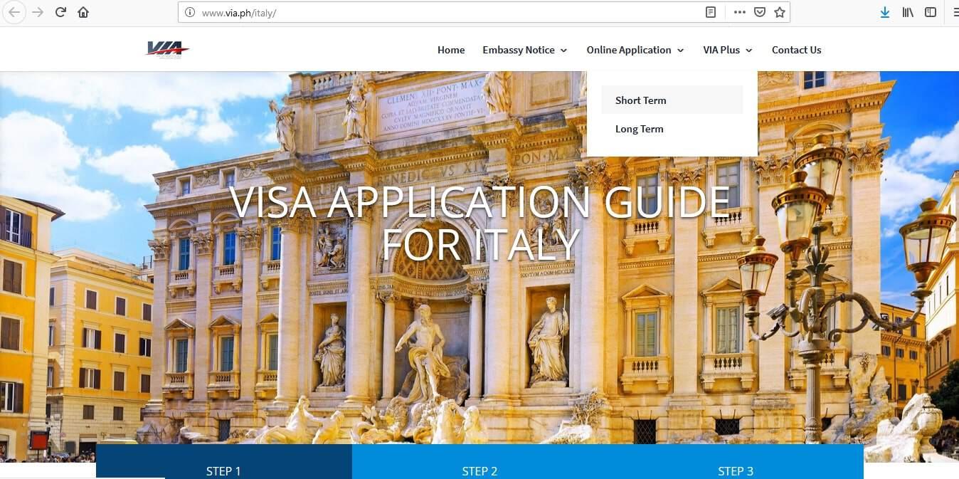 Italy Schengen Visa Manila Consulate Application Form2