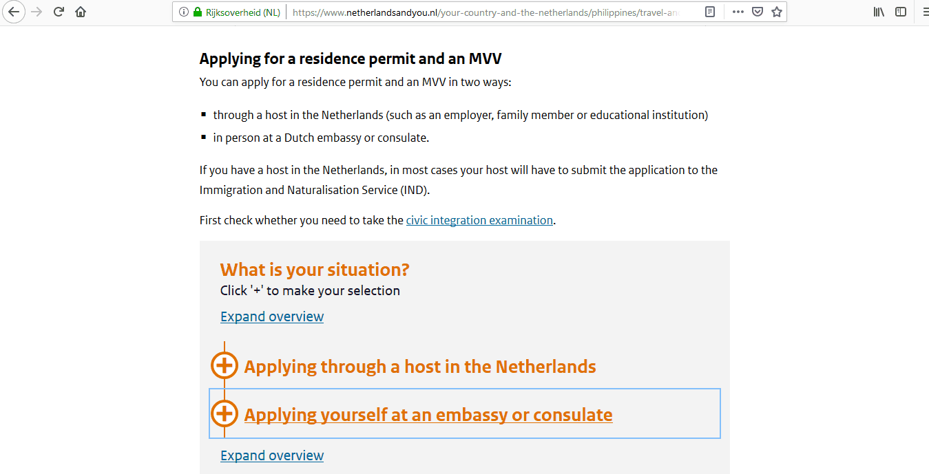 Netherlands Schengen Visa Manila Consulate Application Form8