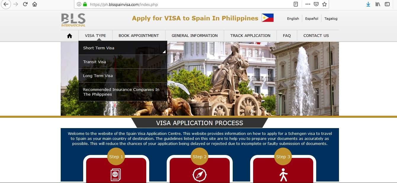 Spain Schengen Visa Manila Consulate Application Form