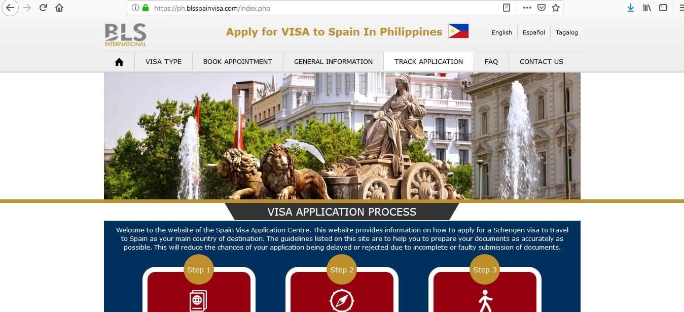 Spain Schengen Visa Manila Consulate Application Status