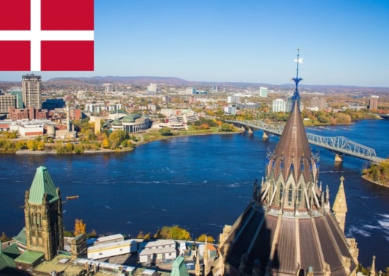 Apply Denmark Schengen Visa at Ottawa Embassy Canada
