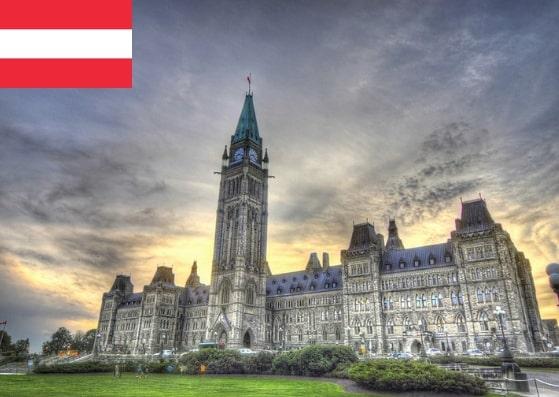 Austria Schengen Visa from Canada