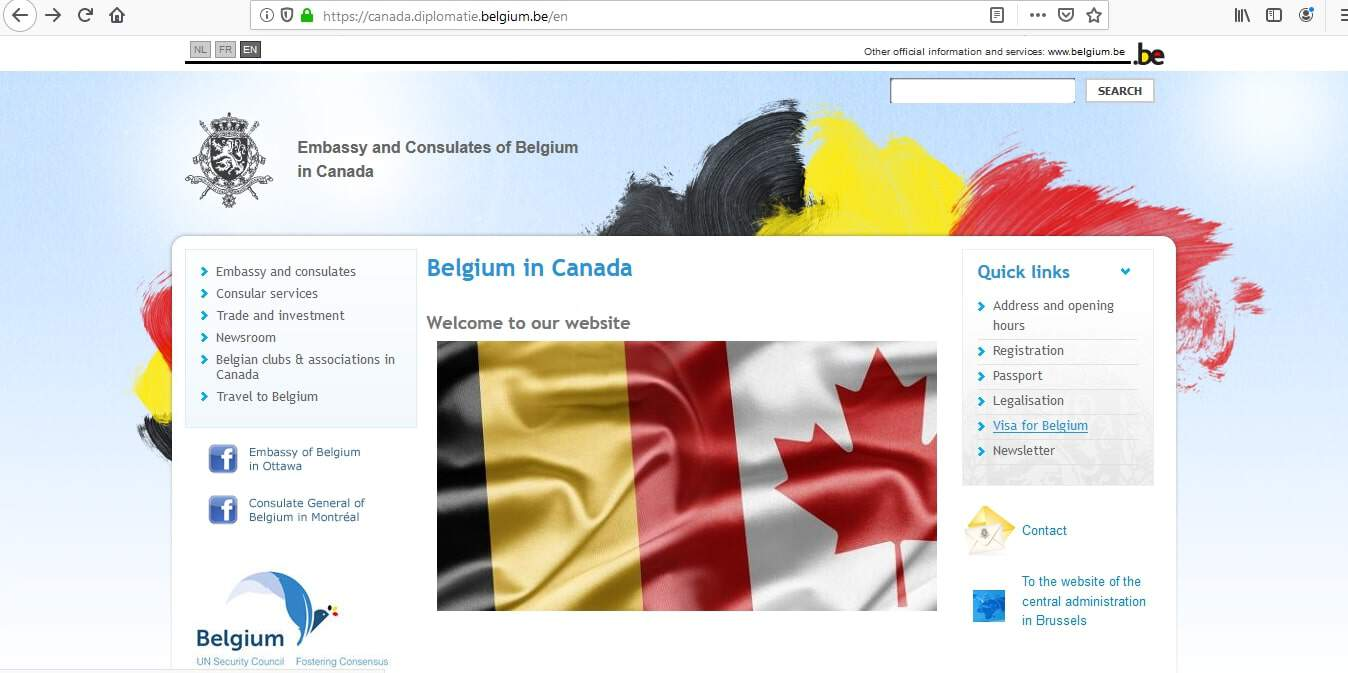 Belgium Consulate Montreal Schengen Visa Canada Application Form