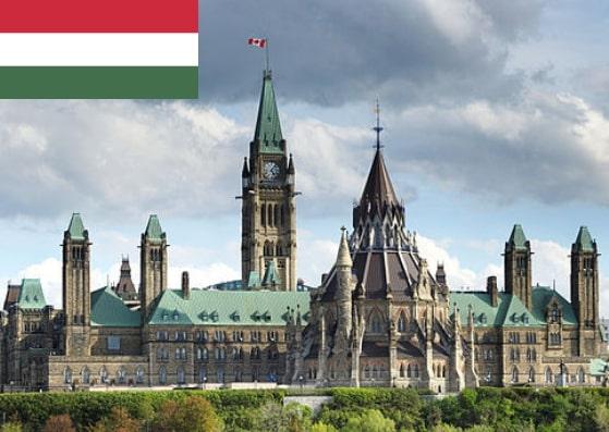 Hungary Schengen Visa from Ottawa Canada