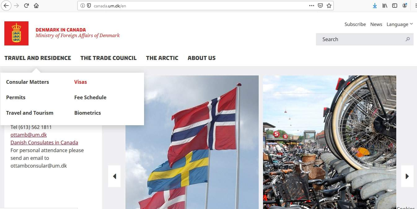 Iceland Schengen Visa from Canada Application Form