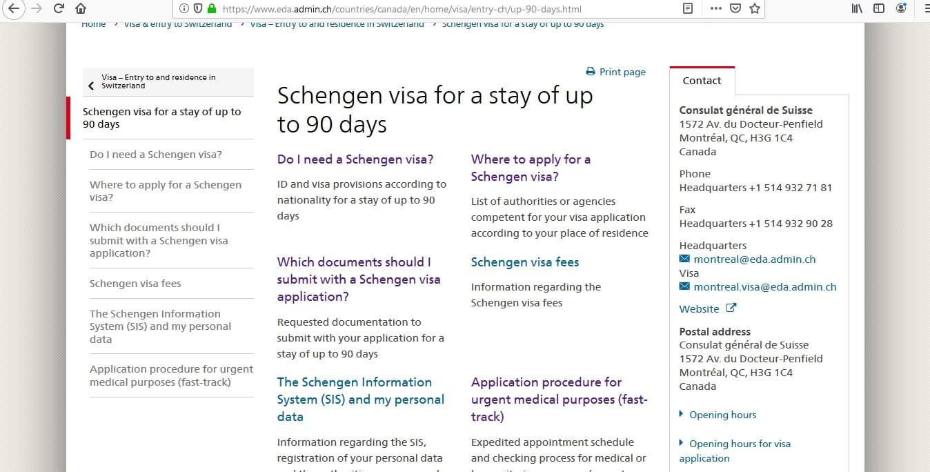 Liechtenstein Schengen Visa from Canada Application Form2