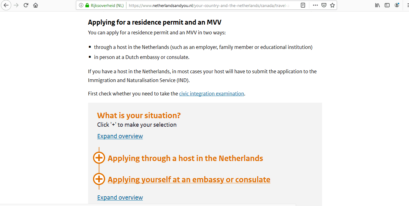 Netherlands Schengen Visa from Canada Application Form5