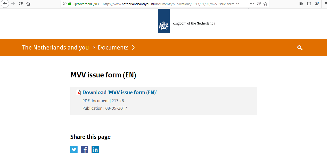 Netherlands Schengen Visa from Canada Application Form7