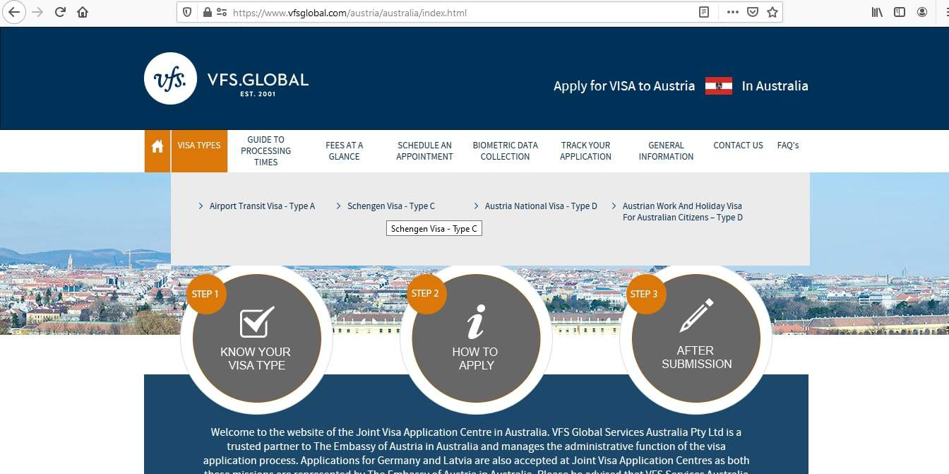 Germany Schengen Visa from Australia Application Form