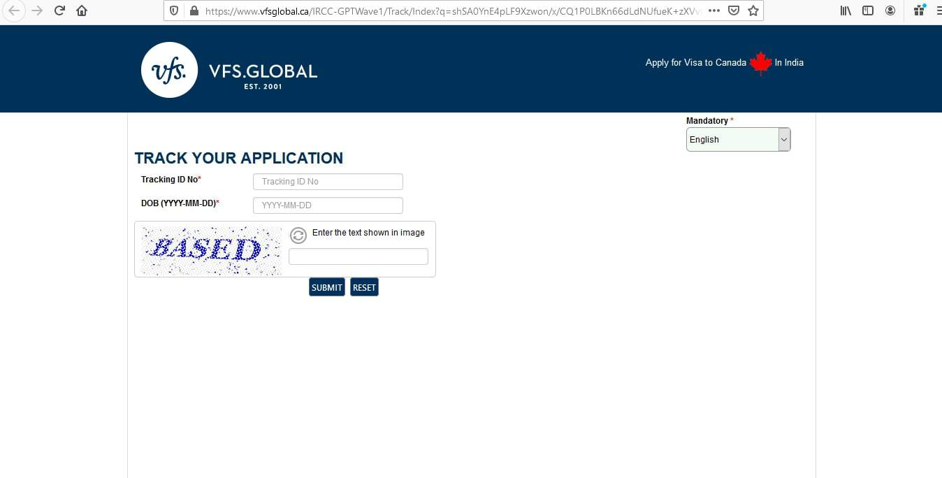 Canada Visa From India Application Tracker - 3