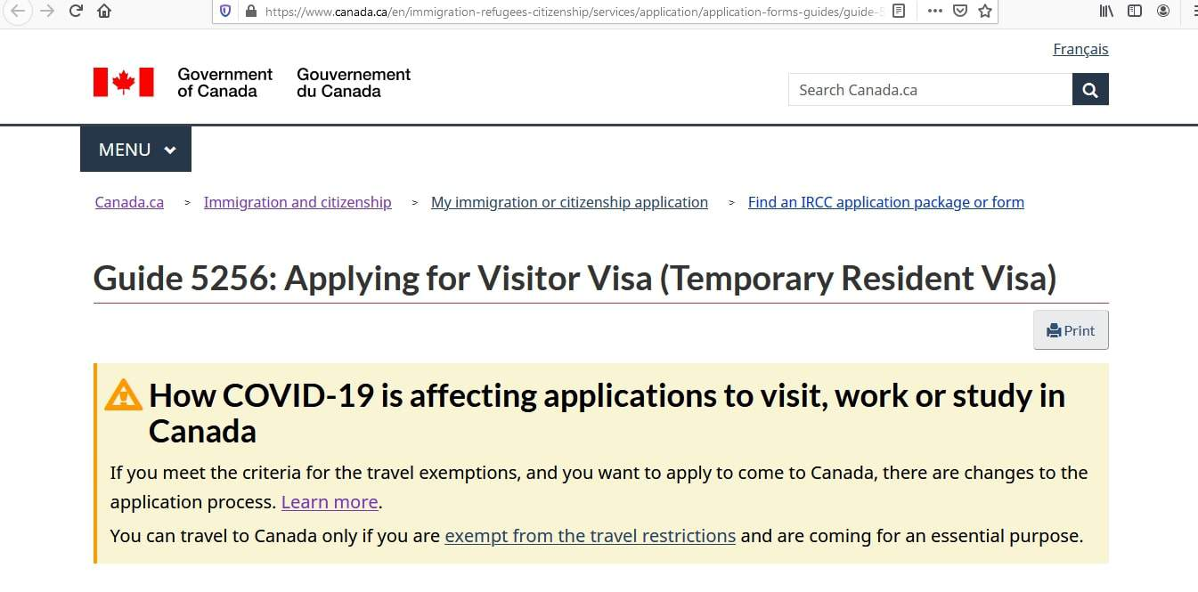 Canada visa - how to apply - 9