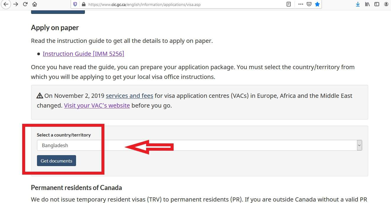 Canada Visa From Bangladesh Document Checklist - 3