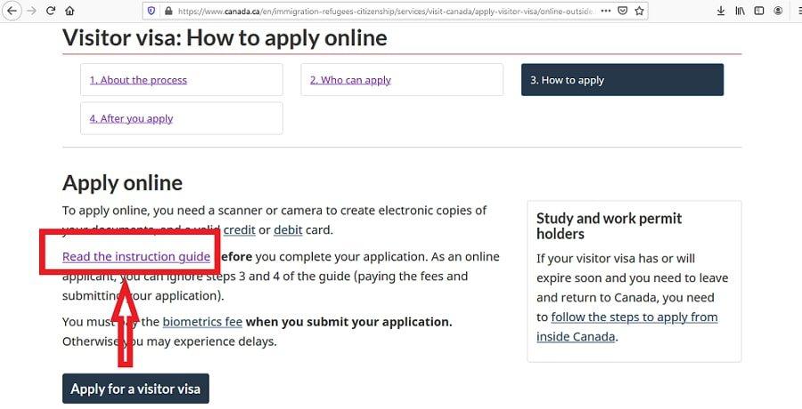 Canada Visa From Malaysia Application Documents Checklist - 1