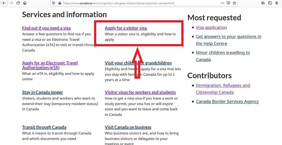 Canada Visa From Malaysia Application Online - 2